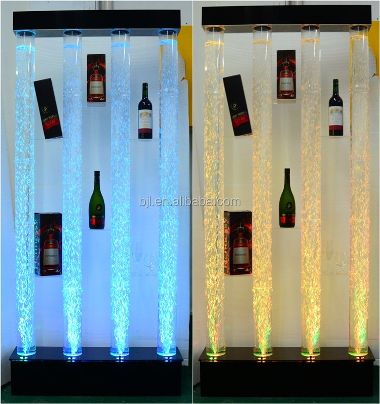 Glowing Led Water Wall Hotel Background Party/wedding Decoration ...