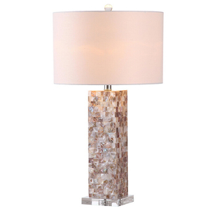 Thailand Modern Popular Resin Table Lamp With Shell Surface