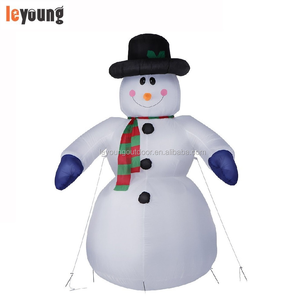 8 Ft Christmas Inflatable Snowman,Big Inflatable Snowman For ...