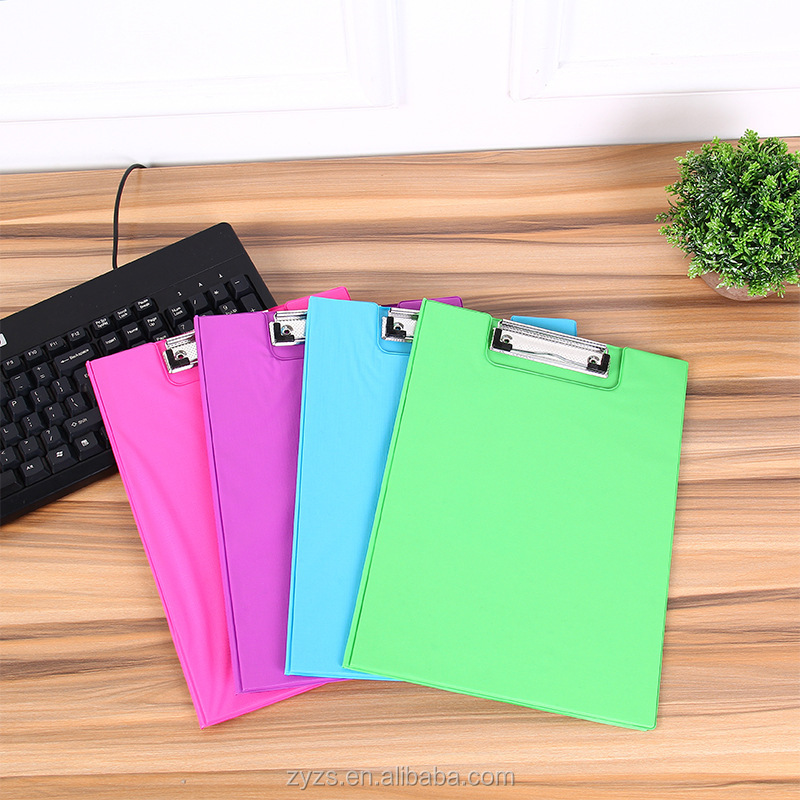 Picture Clips Hanging promotional pocket file folder with clips,hanging file folder