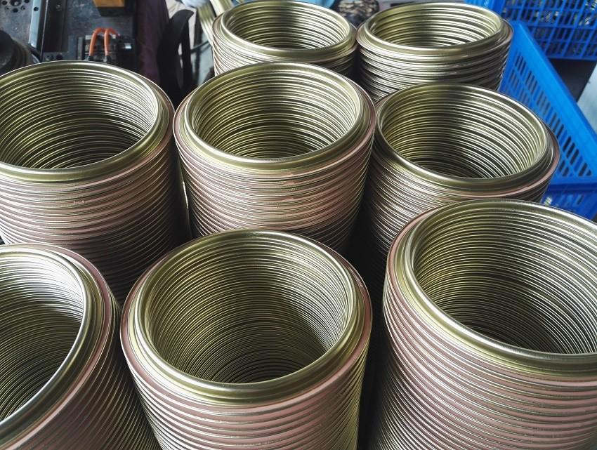 طلاء المعادن القصدير علب الغطاء/عصابة/أسفل -- component للدهان randasteel المصنوعة في الصين الصانع
