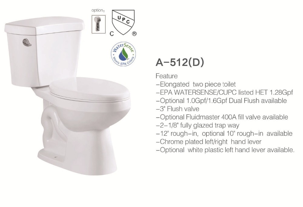 american standard upc dual flush elongated two piece toilet size 10 inch rough