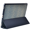 new arrival folding inlay leather case for ipad pro