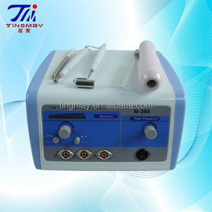 Electric scalp massager/iontophoresis galvanic facial machine