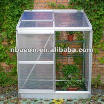 polycarbonate wall winter green house