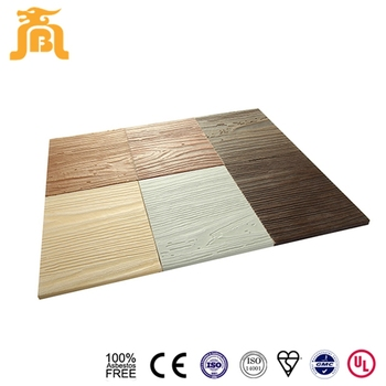 Imitation Natural Wood Grain Side Exterior Calcium Silicate Wall