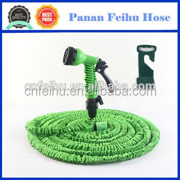 Hot Water Flexible Hose Expandable / Fabric Flat Water Garden Hose / Flat Garden  Hose Reel