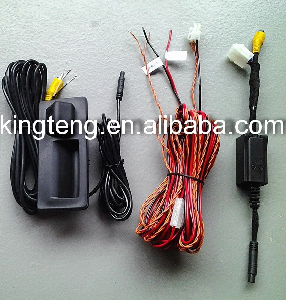 Can-Bus Special RGB Camera For Touareg Door Holder Type Built-in IPAS