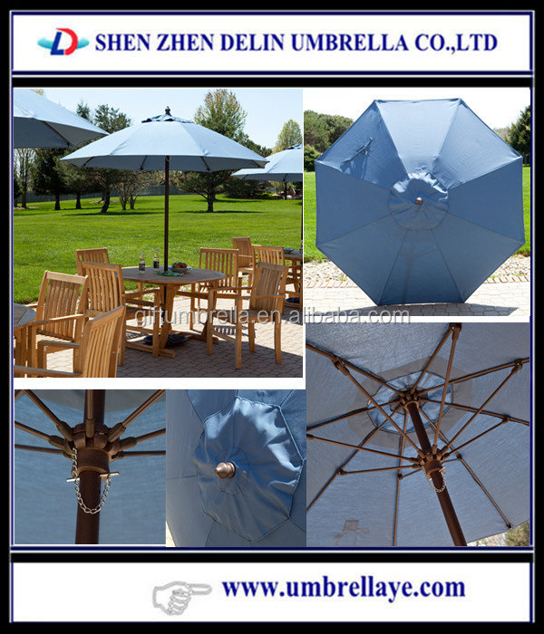 All 7.5-ft Aluminum Wind Resistant Patio outdoor furniture umbrella table chairs set