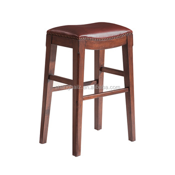 Terrific Cheap Used Bar Stools Bar Chairs Genuine Leather Surface Wooden Stools Buy Genuine Leather Surface Wooden Stools Wooden Stools Cheap Used Bar Stools Machost Co Dining Chair Design Ideas Machostcouk