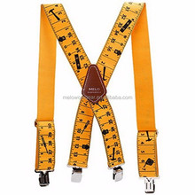 2017 Factory Price Fashion Adjustable Braces Heavy Duty Work Suspenders belts for men