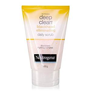 Neutrogena Deep Clean Blackhead Eliminating Daily Scrub Salicylic Acid 100 G.