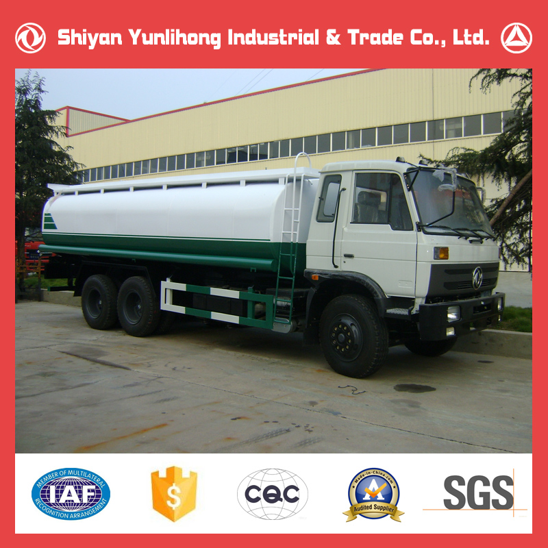 Chinese 20m3 Water Tank Truck Price / Dongfeng 20000 Liter Water Tanker Truck For Sale