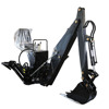 BH600 Hydraulic 3 point hitch backhoe in tractor
