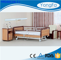 CE Qualified home care wood patient bed king size wooden bed frame