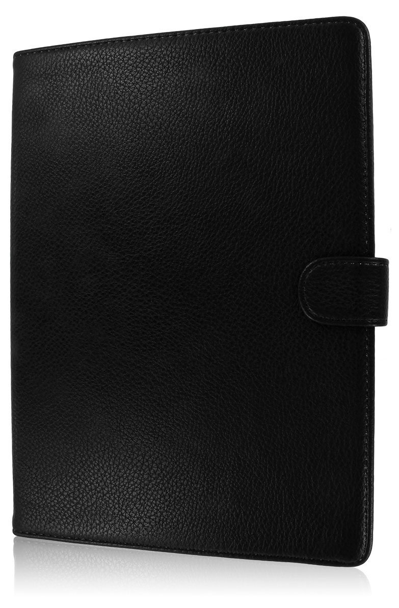 iPad Air Leather Case, MPERO SNAPZ STAND Leather Case for Apple iPad Air - Black