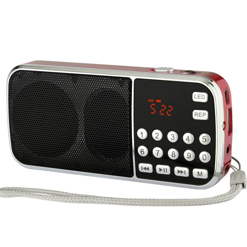 portable USB SD card MP3 <strong>player</strong> with FM radio