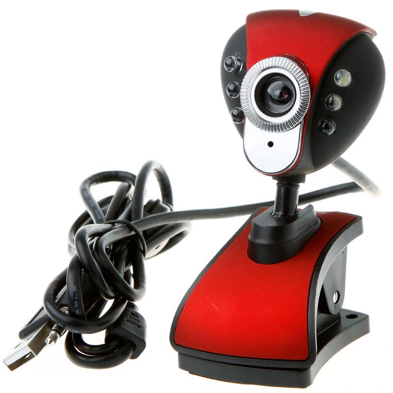 50.0M USB Video Camera Webcam W// Mic Microphone For PC Computer Laptop Black