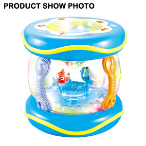 Sea Series Rotating Baby Drum Toy With Light, Music, Story