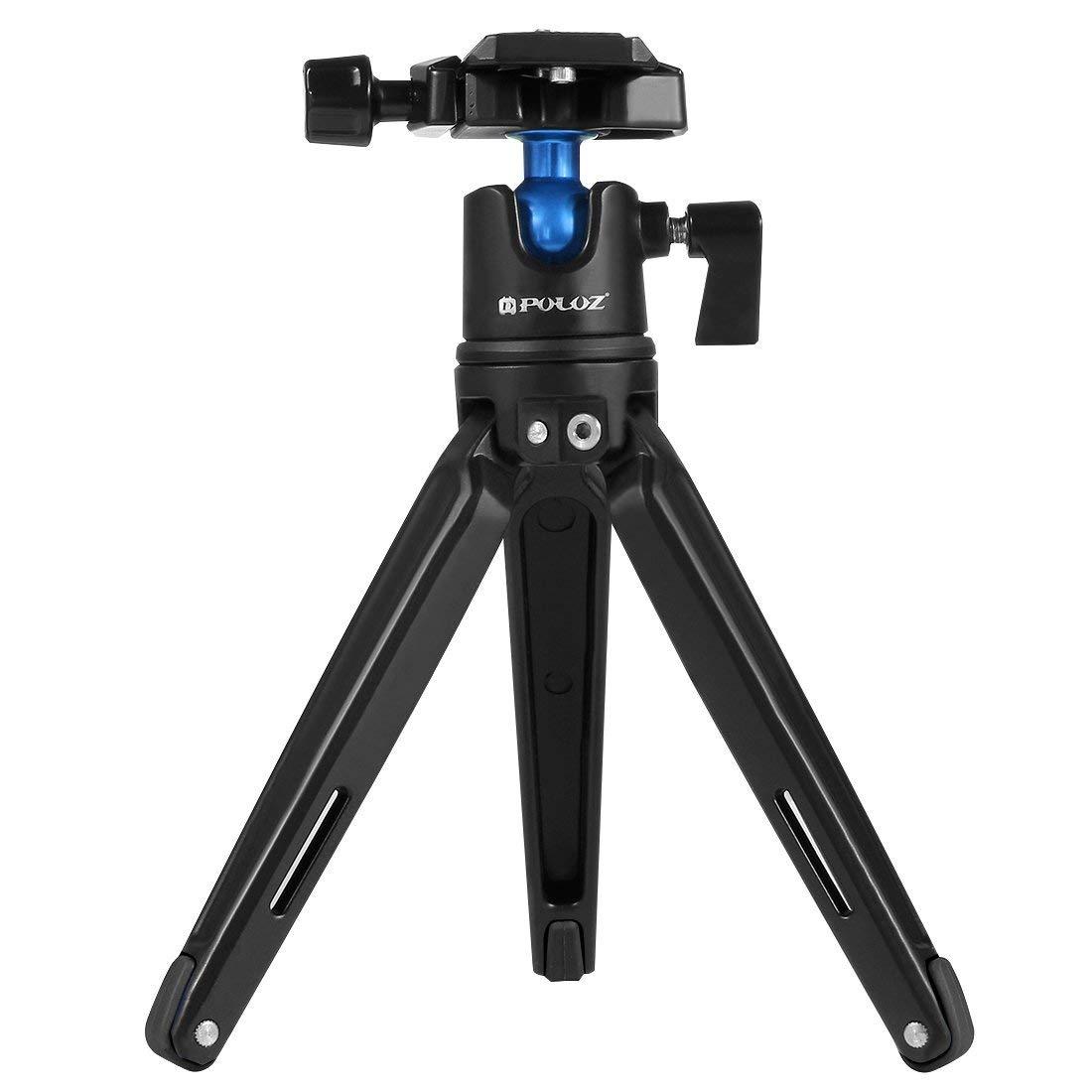 HITSAN PULUZ PU3002 Pocket Mini Metal Tripod 360 Degree Ball Head Holder Stand Mount for DSLR Camera One Piece