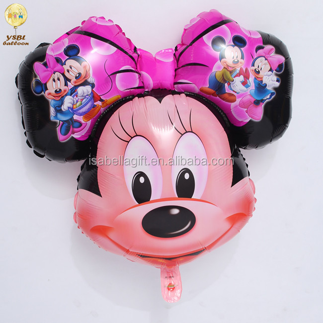 mickey / minnie mouse helium balloons from Yiwu Isabella Factory
