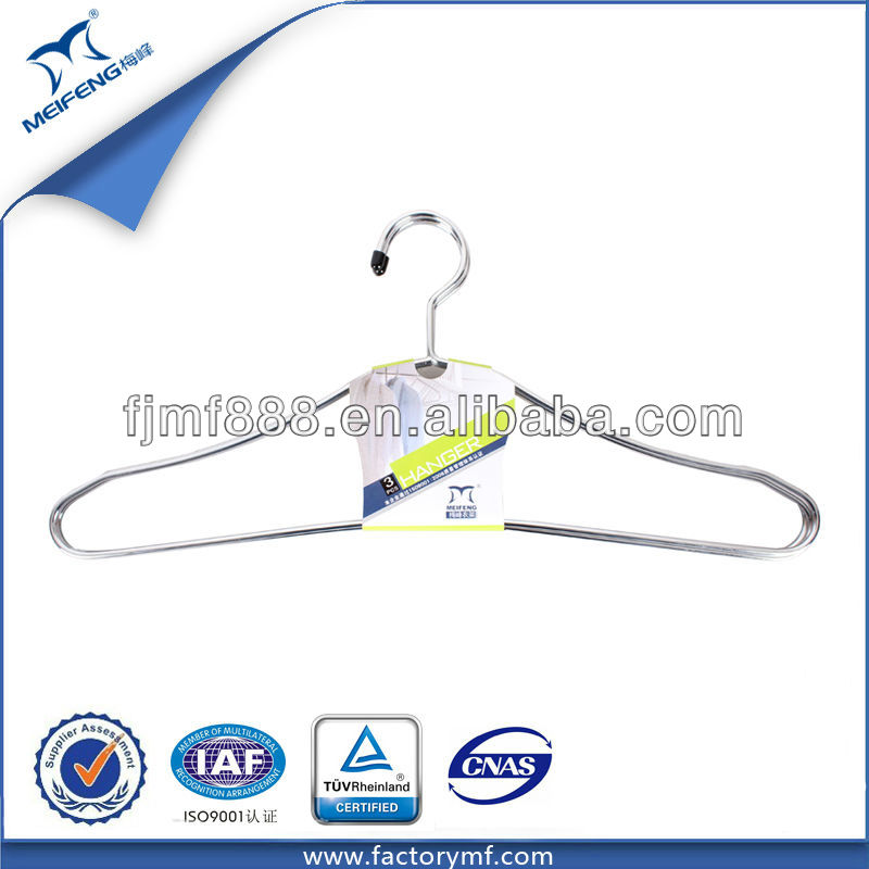 Wholesale Laundry Products Non-Slip Chrome-Plated Wall Clothes Hanger Rack