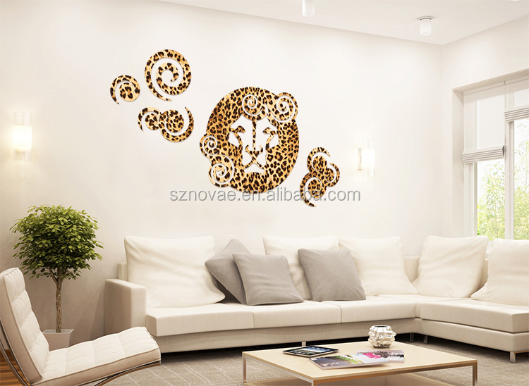 3DM-01C Africa Themes Lion Design Latest Decor Tin-free Carving Motifs in PVC