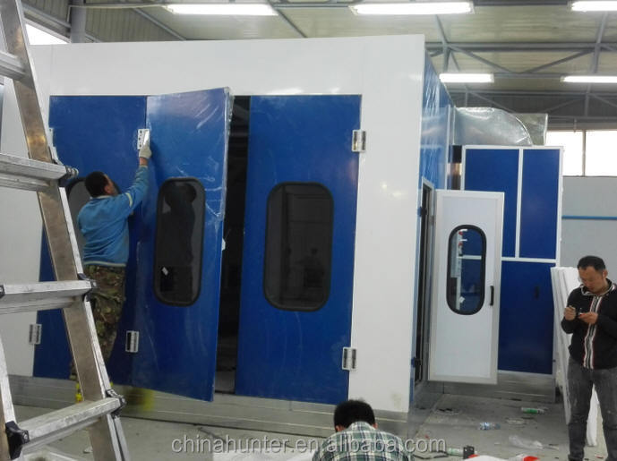 Mongolia car repair wokshop wheel alignment paint booth car lift car equipment