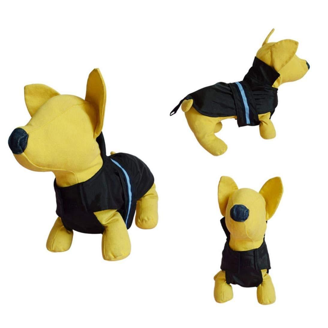 Waterproof pet clothes,Morecome Dog Pet Outdoor Waterproof Rain Vest Jackets Costume