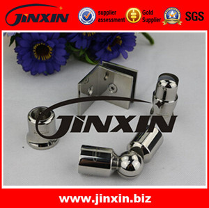 JINXIN cheap price polished frame surface finishing trackless shower doors parts