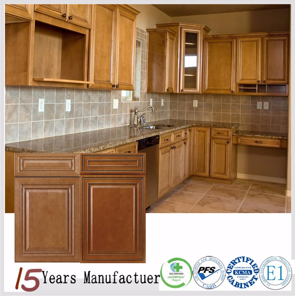 Supplier kitchen cabinet set kitchen cabinet set for Cheap solid wood kitchen cabinets