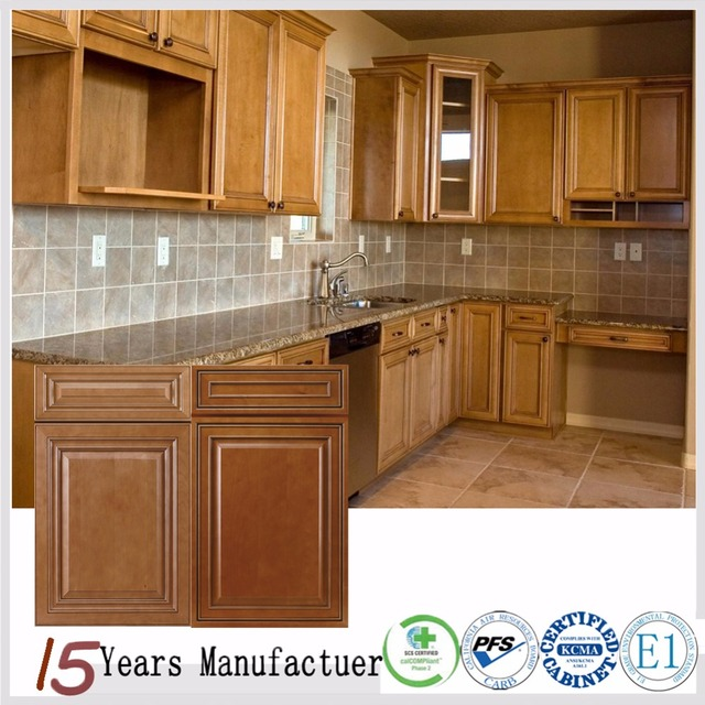 Solid Wood Base Complete Kitchen Cabinet Set