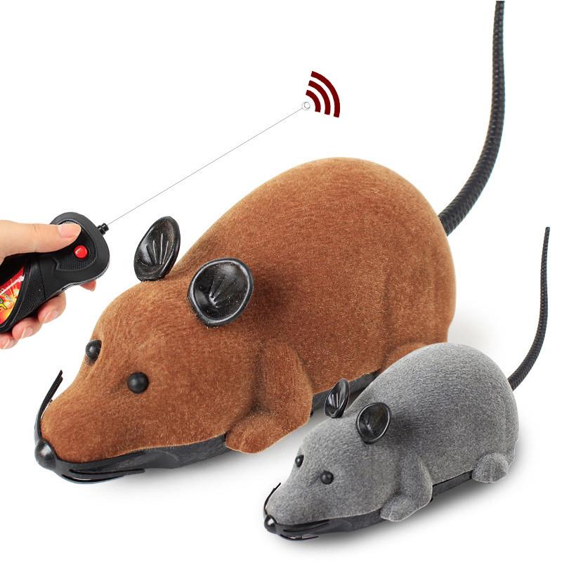 Électrique sans fil télécommande RC Rat Souris Jouet animal de compagnie Chats