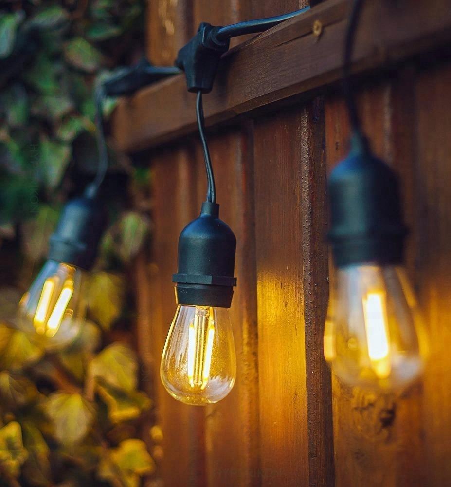 48ft String Lights Outdoor E26 E27 S14 Edison Bulb Included Christmas Waterproof Connectable Serial Led String Lights Buy Connectable Serial Led
