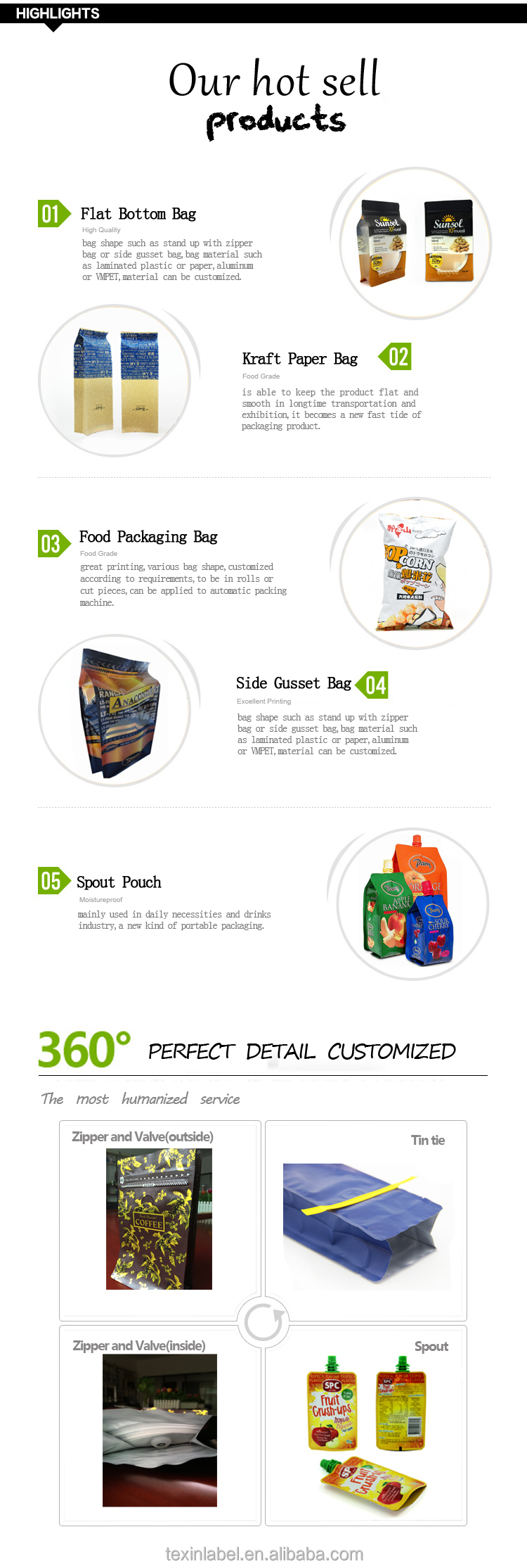 Food Packaging Custom Printed Clear Plastic Bread Bags From China ...