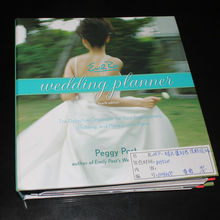 wedding planner, spiral bound wedding book printing service