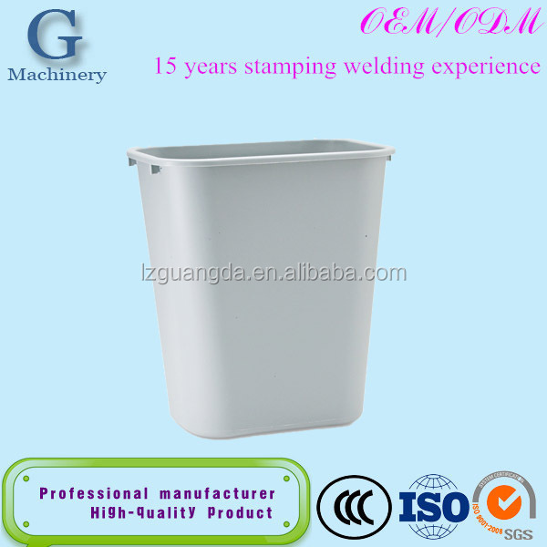 custom sheet metal dustbin trash bin fabrication waste recycling bin
