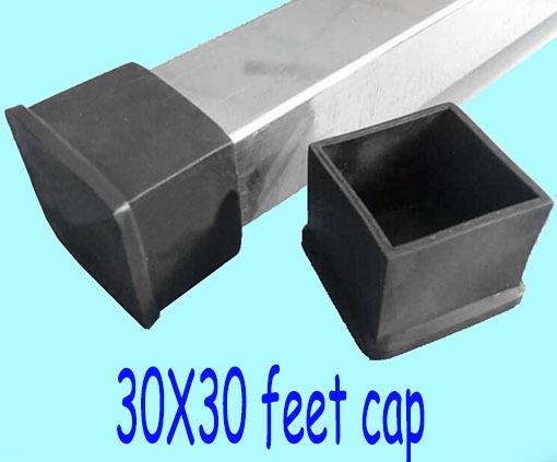 30 30mm Table Leg Cover Cap Square Pipe Tube Table Lag