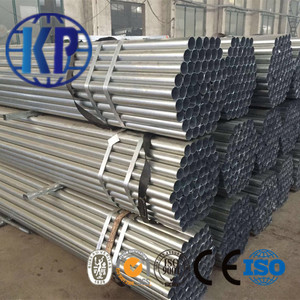 Prime Welded Round Galvanized Steel Pipe Price List