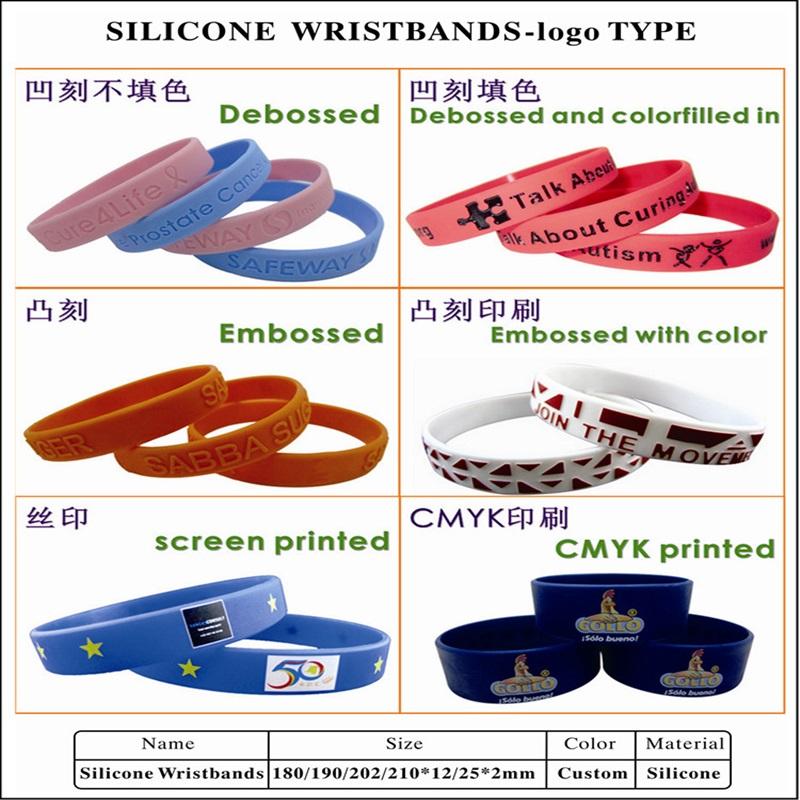 Hxy Custom Silicon Polsband Logo Gedrukt, Aangepaste Siliconen Armband, Cool Heren Siliconen Armband