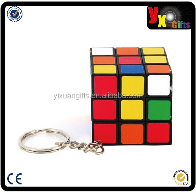 Mini Keychain 3*3*3 Cube Puzzle Magic Game Toy