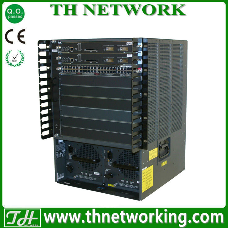 Genuine Cisco Catalyst Switch VS-C6513-S720-10G Catalyst Chassis+Fan Tray+Sup720-10G; IP Base ONLY incl. VSS