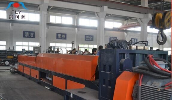 10-80mm FLY-105 epe foam pipe/tube/bar/rod/profile making machine, epe foam profile extruder