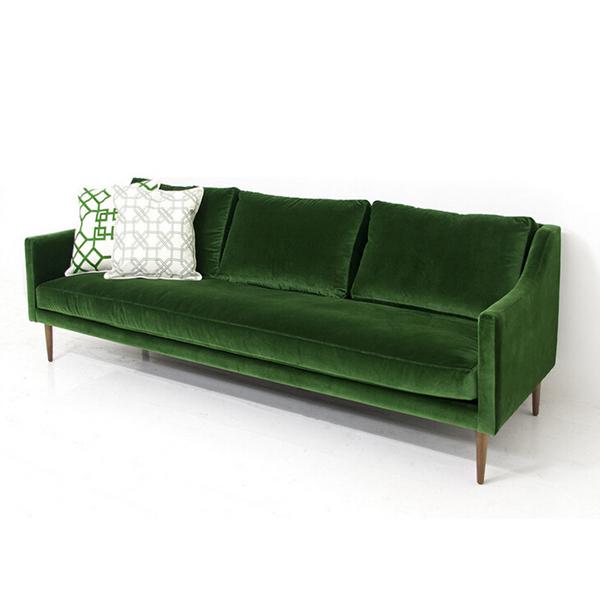 Sf-123 Hotel Furniture Room Dark Green Color Velvet Sofa - Buy Green  Sofa,Velvet Sofa,Hotel Sofa Product on Alibaba.com