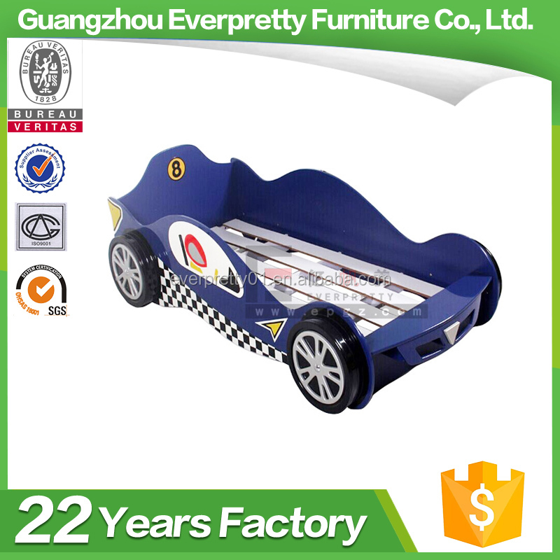 Kids Bedroom Furniture Single Bed In Car Shaped Cartoon Furniture Racing Car Bed