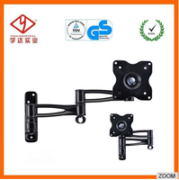 Great flexibility and adaptability lcd tv bracket for 10