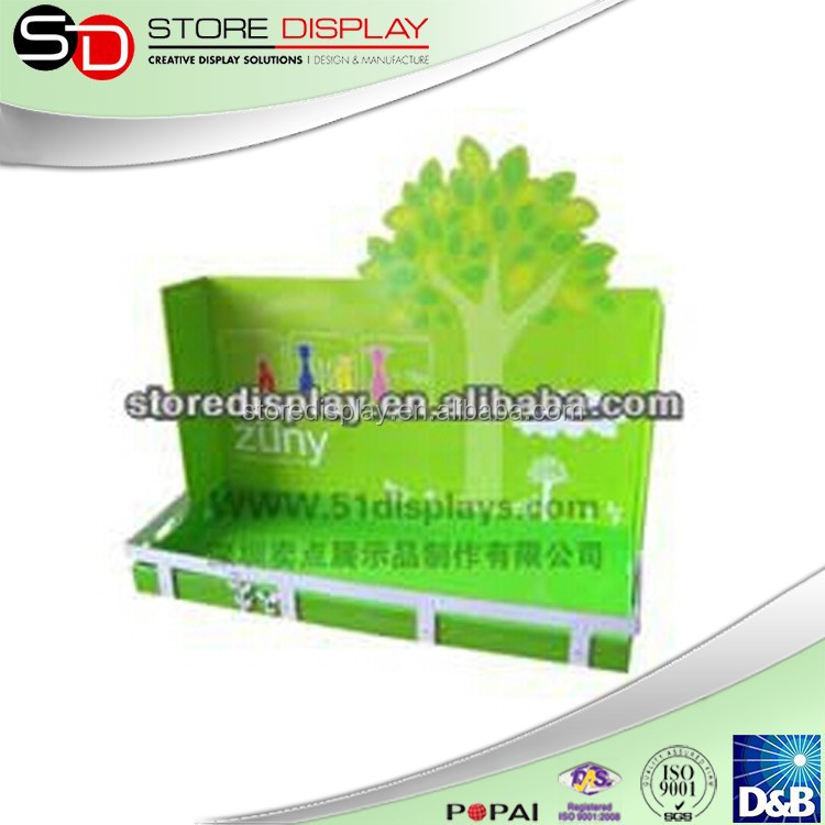 2015 Newly good quality best price Cardboard Countertop Display