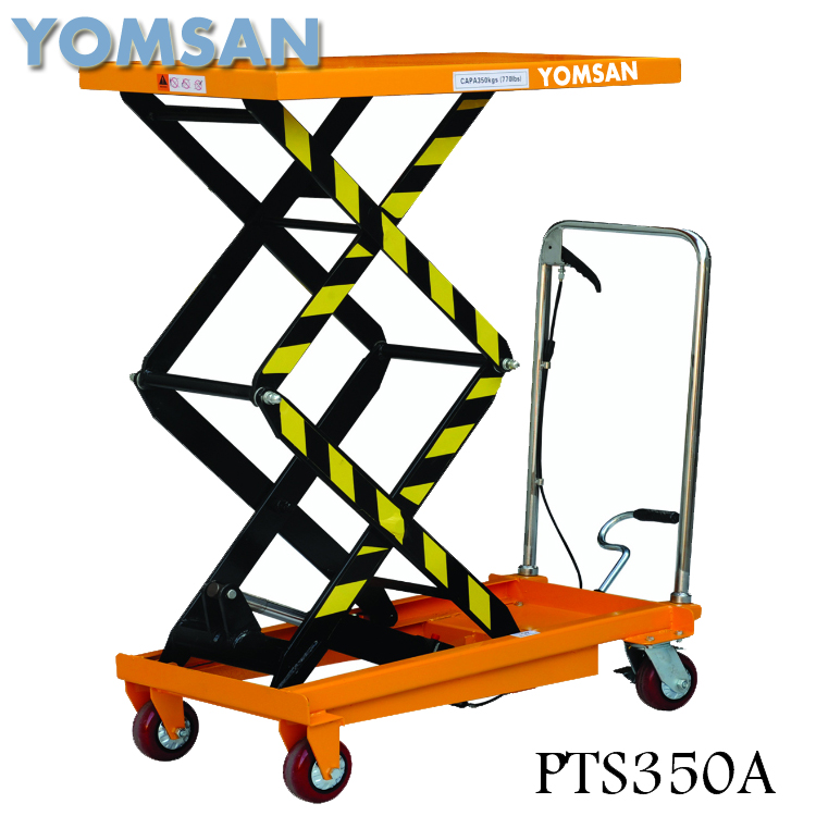 Factory supply safety device 3 meter hydraulic pallet lift table