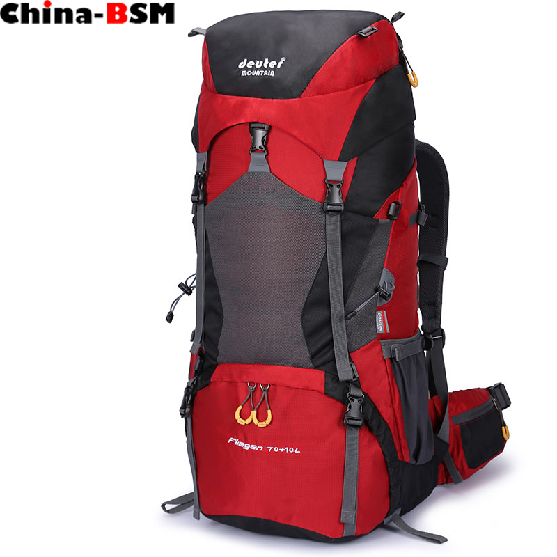 Large capacity Rucksacks camping sports bags 80L Outdoor Backpack Travel Mountain climbing backpacks Hiking