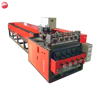 Stainless steel scourer making machine with wire drawing machine/High output integrated machine